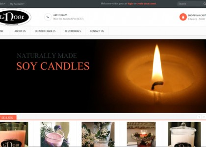 Lenore Candles